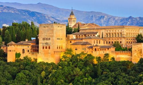 Alhambra - Die Stadtburg Granadas