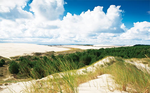 Die plonische Ostsee bei Rowy