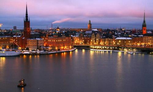 Stockholm am Abend