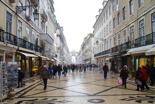 Die Innenstadt von Porto