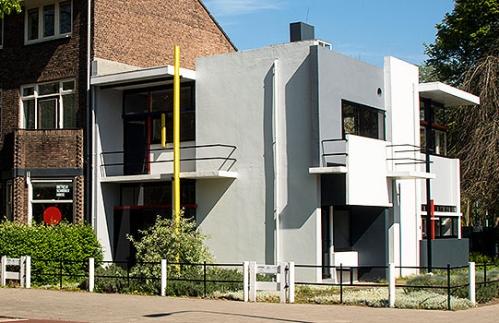 Das Rietveld-Schröder Haus in Utrecht