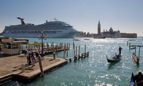 Kreuzfahrttourismus in Venedig
