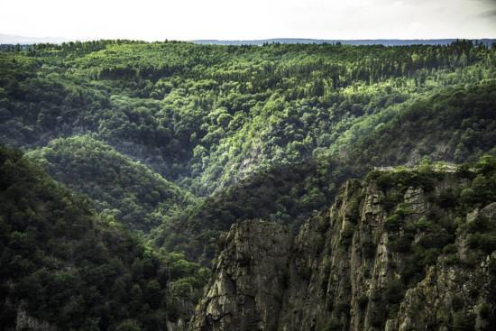 Das Bodetal im Harz