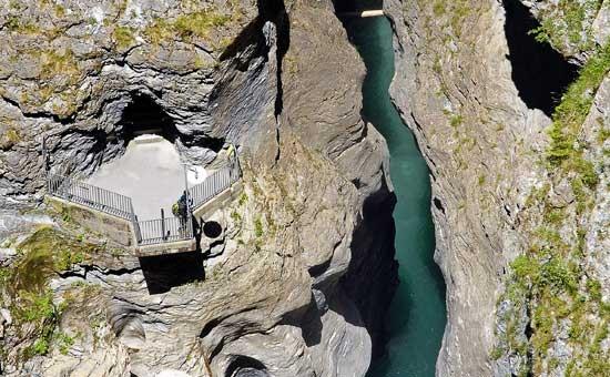Viamala Schlucht in Graubünden