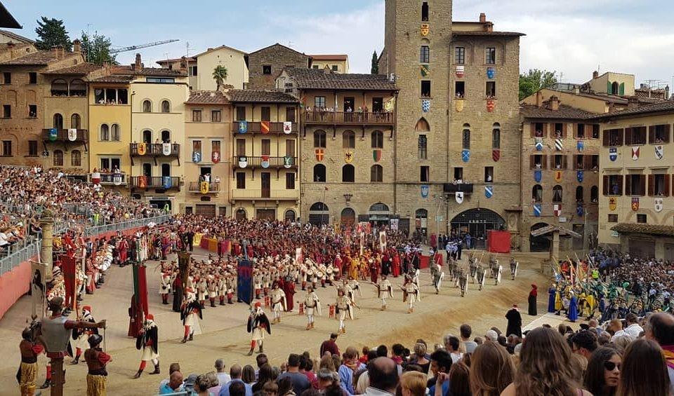 Pferderennen Arezzo