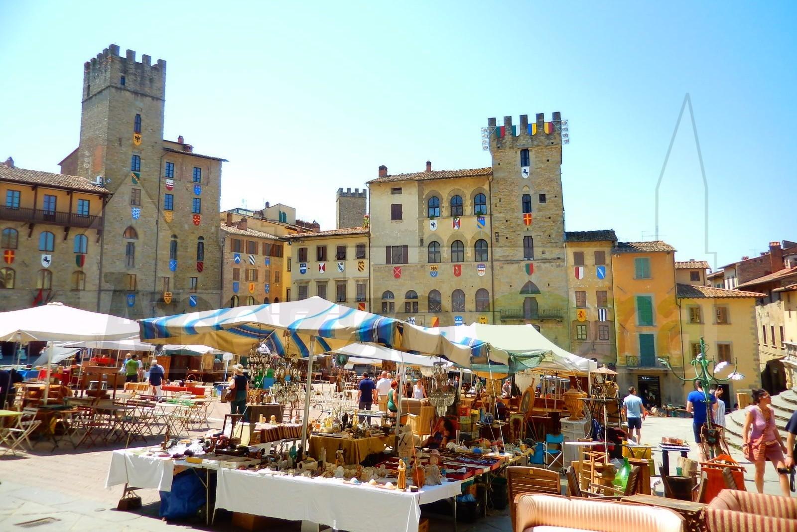 Trödelmarkt Arezzo