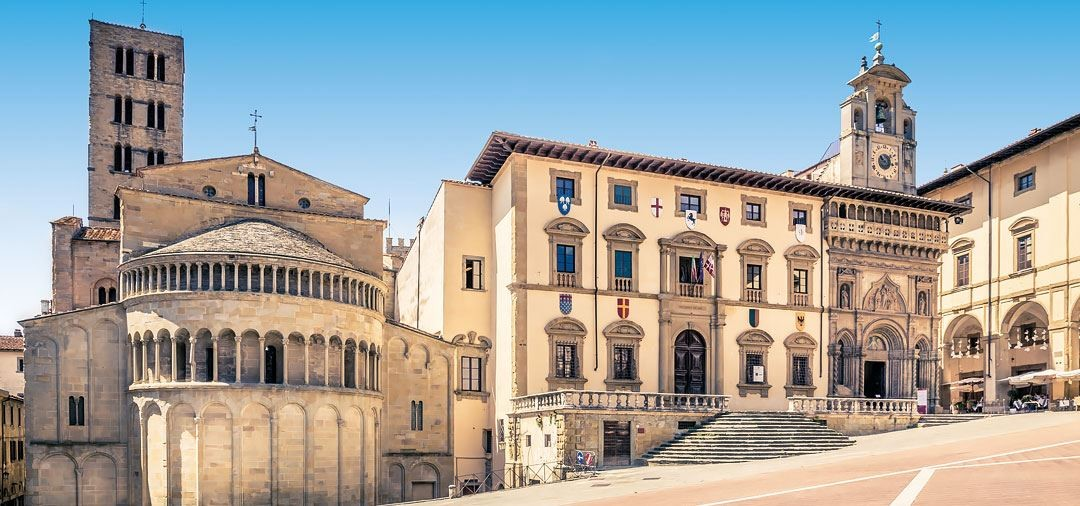 Filmkulisse Arezzo