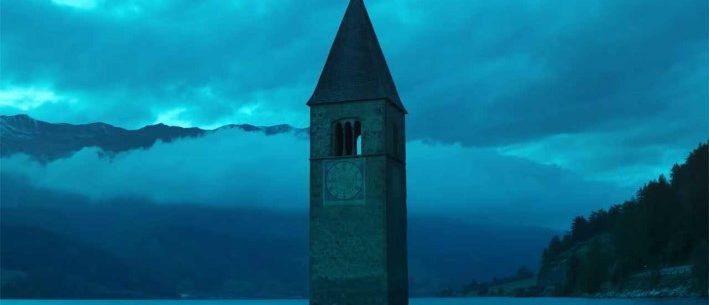 Curon in Italien. Das versunkene Dorf