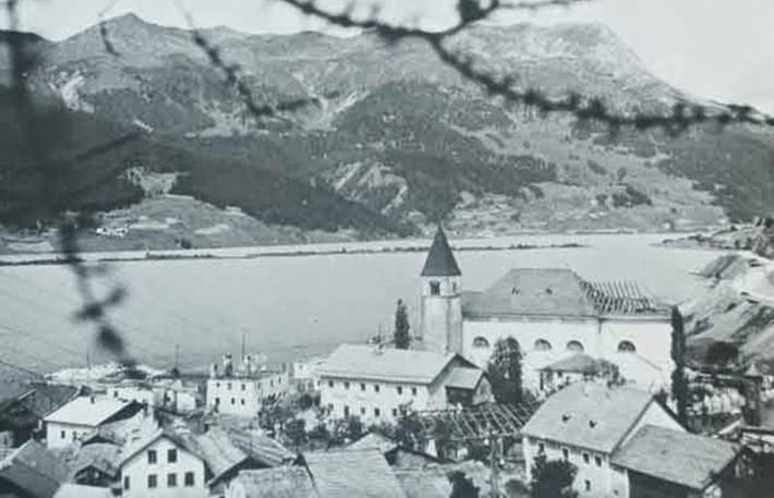 Das Dorf im alten Zustand