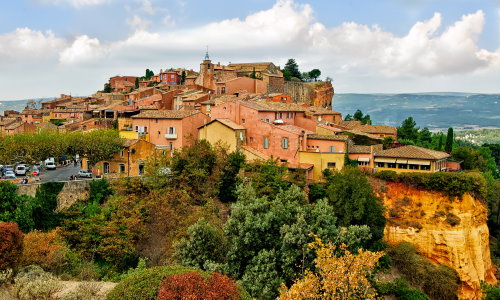 Roussillon in der Provence