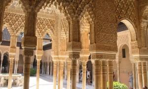 Dekorationen Alhambra