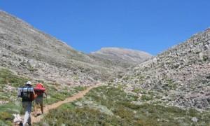 Bergwandern auf Kreta