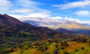 Die Berge Kretas