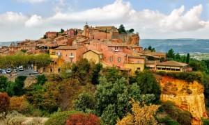 Herrliche Landschaften in der Provence