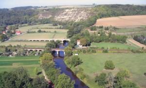 Die Saale in Thüringen