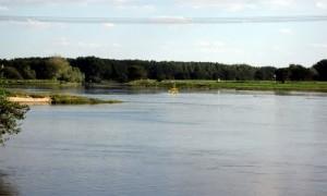 Die Mündung der Saale in die Elbe