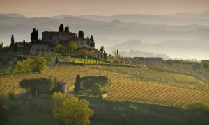 Die Toskana in Italien